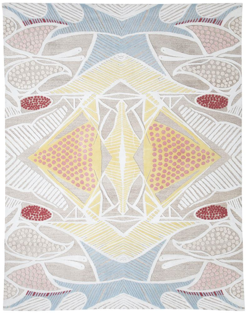 Inigo Elizalde Rugs: Handmade carpets with a tropical flair