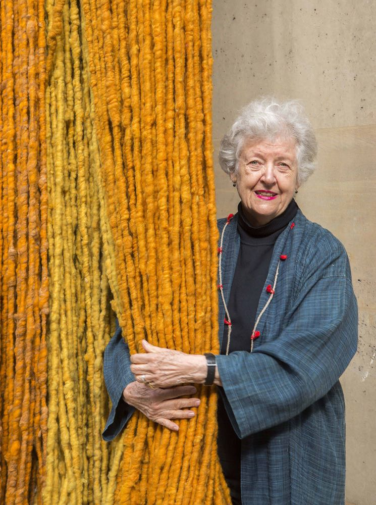 Exhibition: Sheila Hicks – Thread, Trees, River