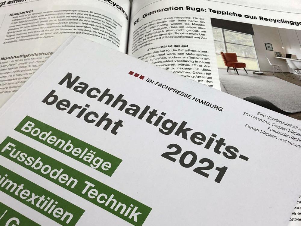 SN-Verlag: Nachhaltigkeitsbericht 2021 erschienen