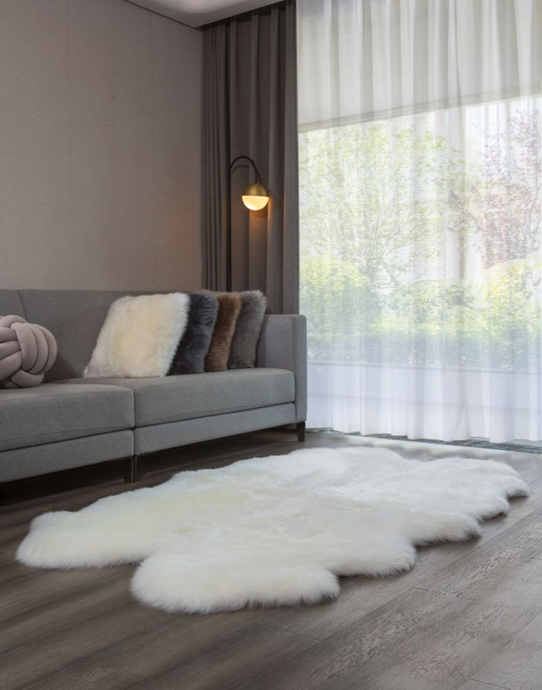 Heitmann Felle: Cosy and versatile lamb and cow skins