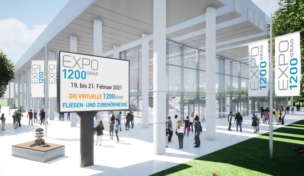 Expo 1200 Grad: Digitale Fliesen- und Zubehörmesse startet am Freitag