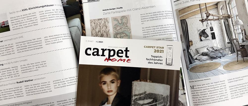 Carpet Magazine is now Carpet Home