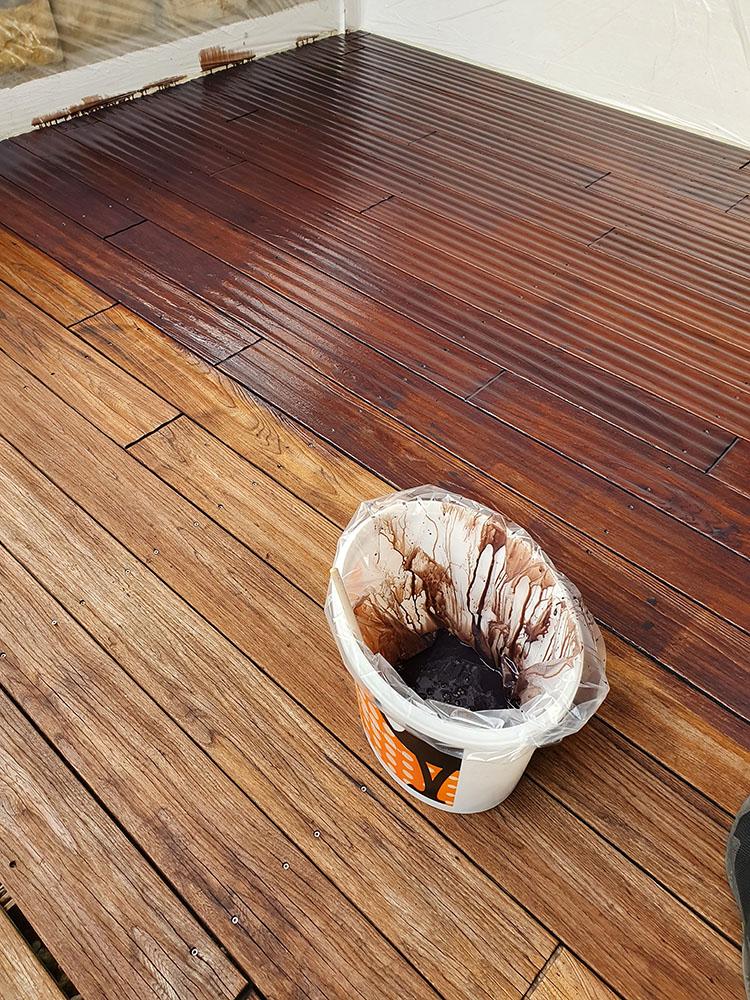 Terrassen perfekt inszenieren mit der Deck-Linie