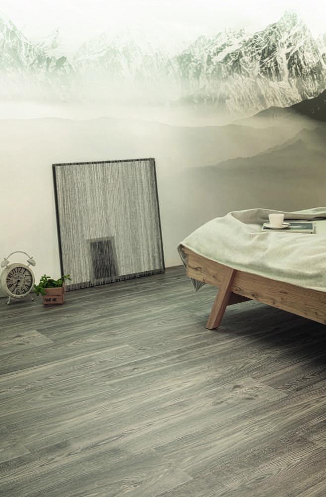 Echtholz-Charme mit Feuchtigkeitsschutz