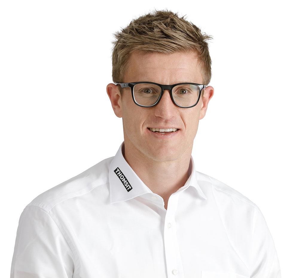 Florian Scheid neuer Thomsit-Bezirksleiter