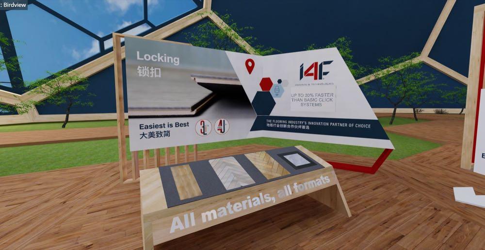 I4F: Als Patent-Partner Bodenbeläge besser machen