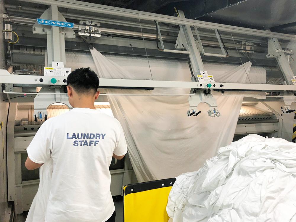 Seminar vermittelt Grundlagen der Wäschereitechnik