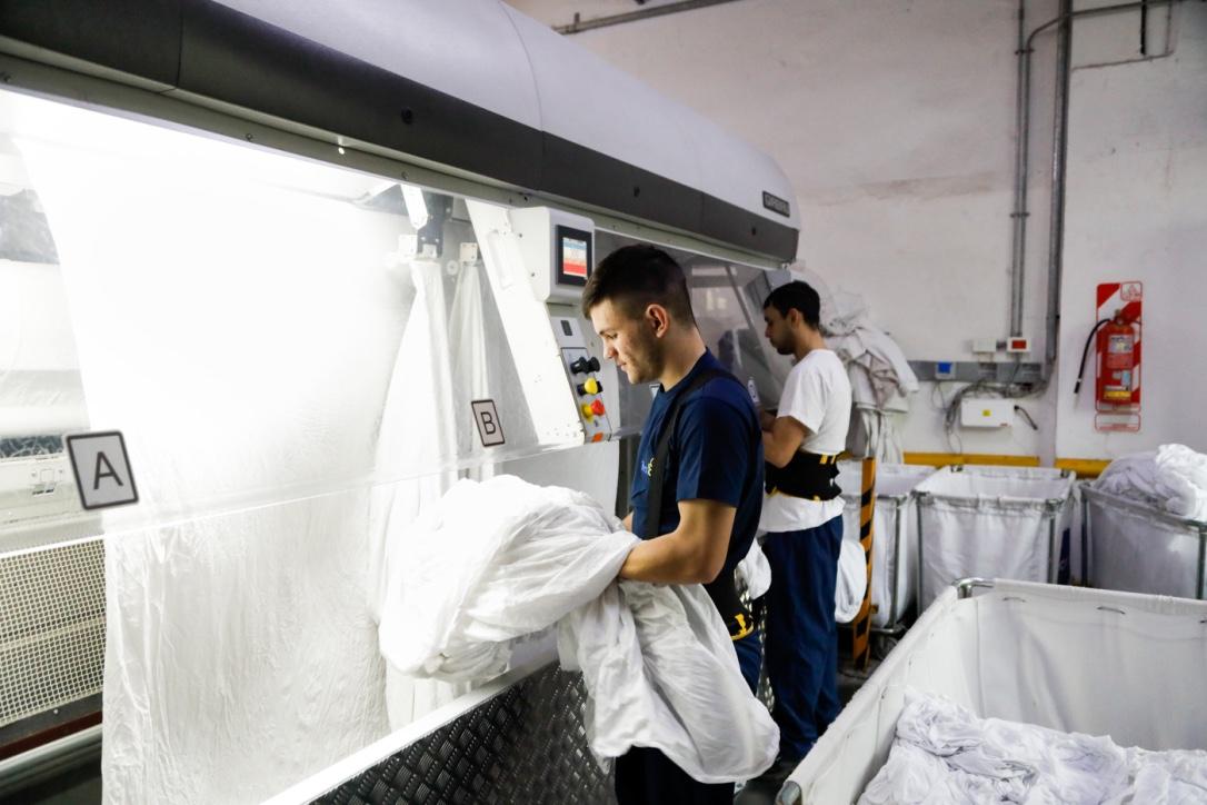 Kapazität und Nachhaltigkeit in Wäscherei gesteigert