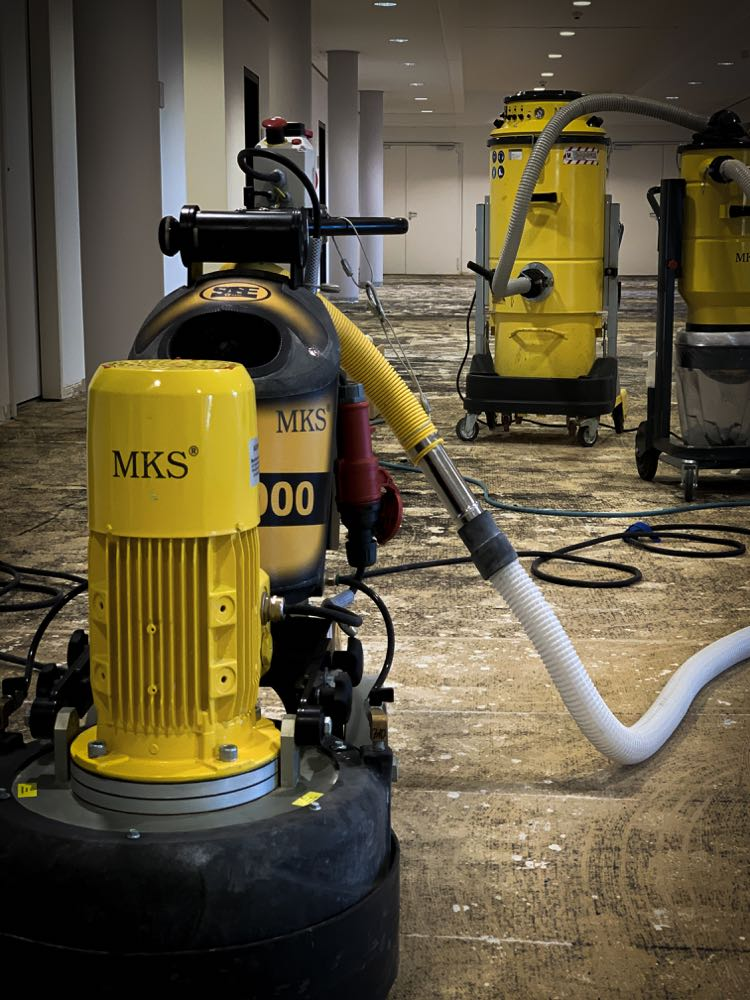 Sanierung dank Vigor-Werkzeugen schneller als geplant