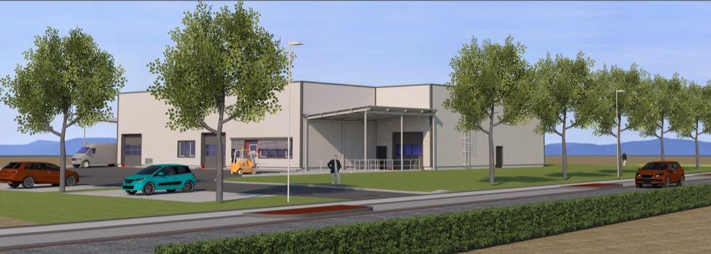 Hertweck baut neues Firmengebäude