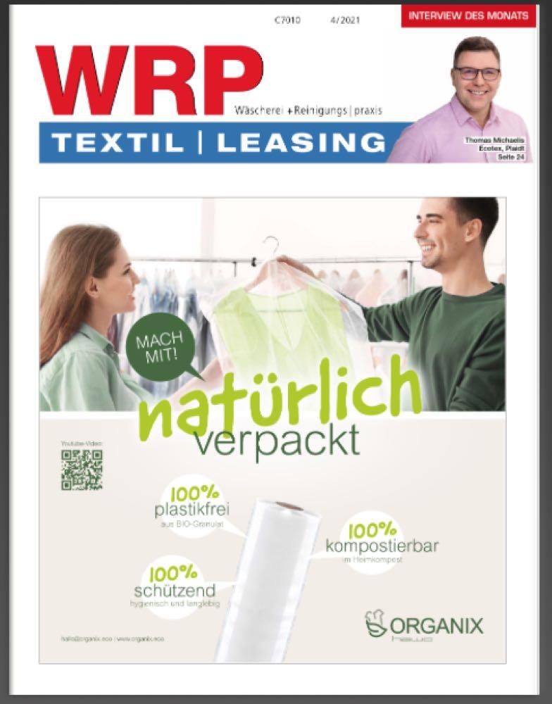 WRP April-Ausgabe: Reinigungsmaschinen, Fußball und Fußabtreter