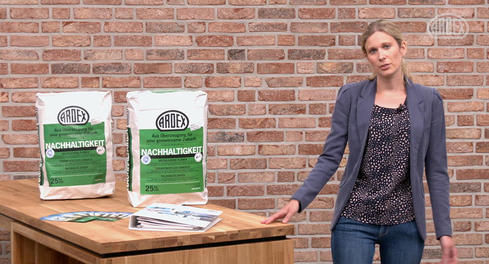 Ardex: Nachhaltigkeit wird digital