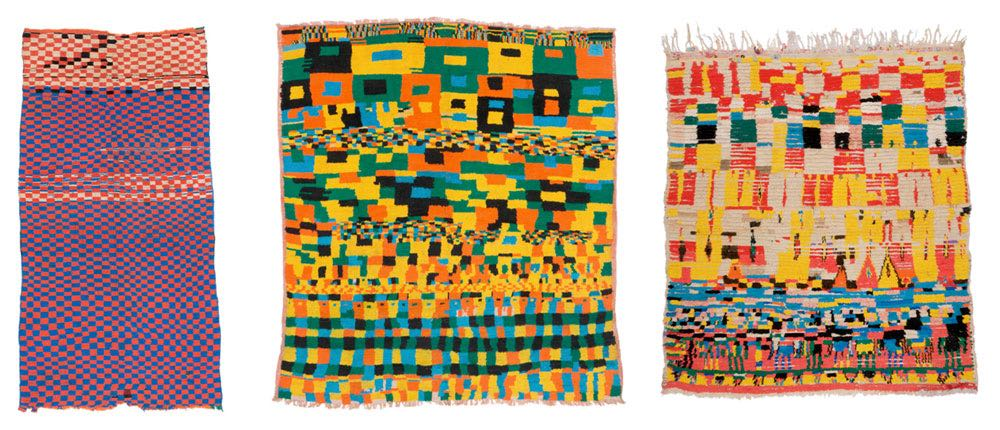 Exhibition in Graz: Chessboard Motif in Moroccan Carpets