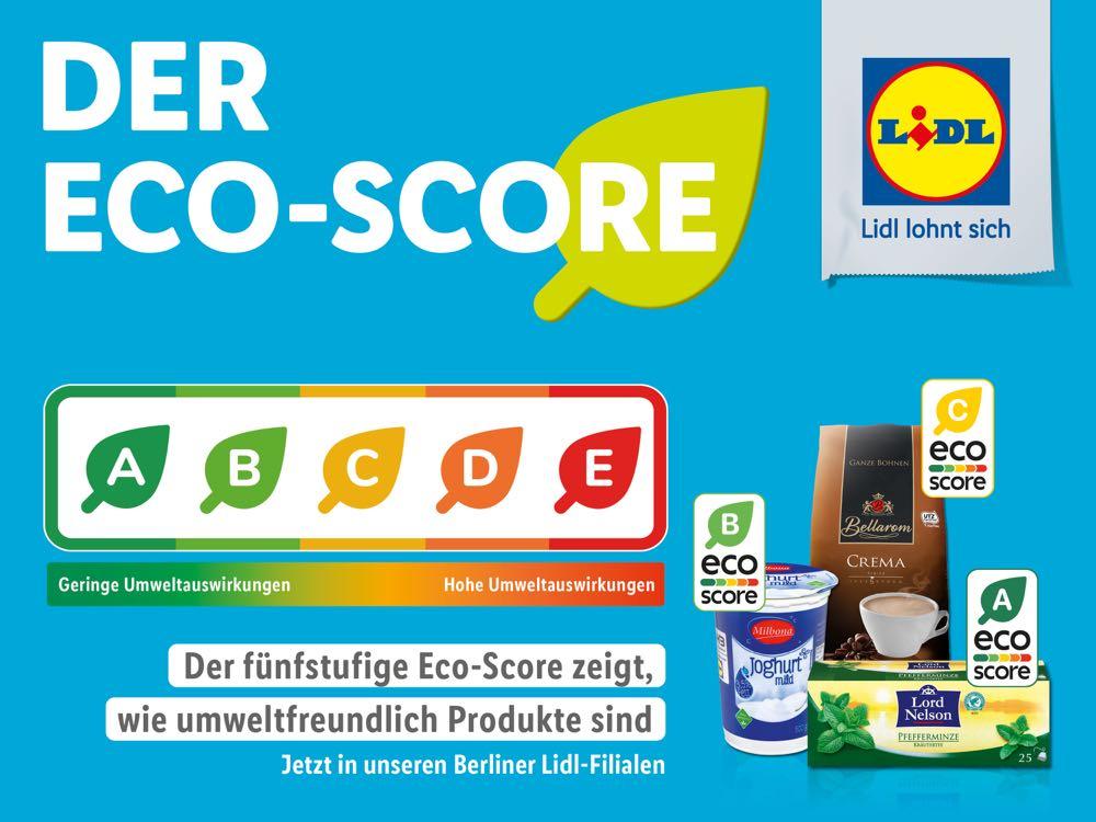 Lidl testet Eco-Score-Kennzeichnung