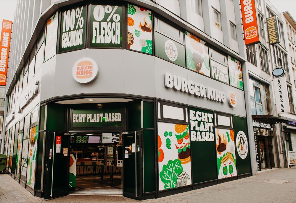 Burger King öffnet Plant-based-Restaurant in Köln