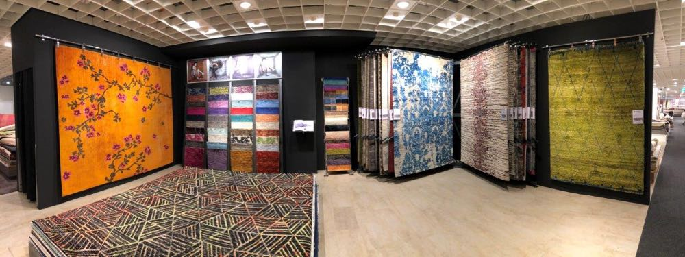 Theko Deluxe/Theo Keller: Custom-made carpets, handknotted in Tibetan wool and silk