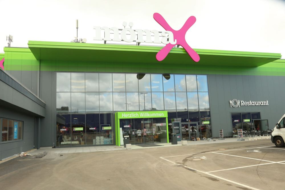 Mömax: neuer Standort in Koblenz