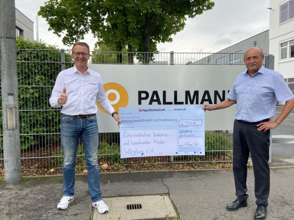 Pallmann spendet für krebskranke Kinder