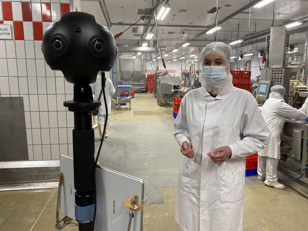 Einblicke in Tönnies-Produktion