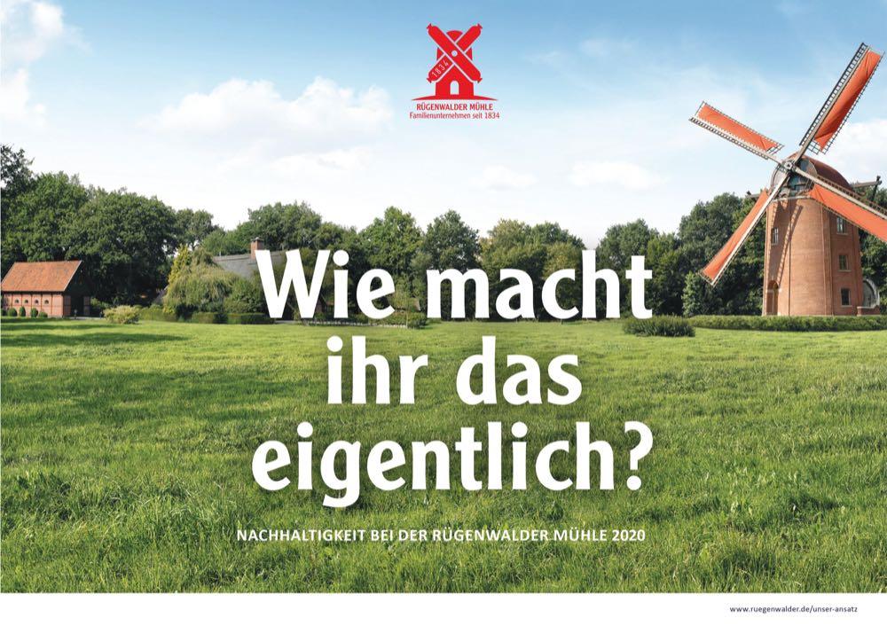 Rügenwalder Mühle will bis 2025 klimaneutral produzieren