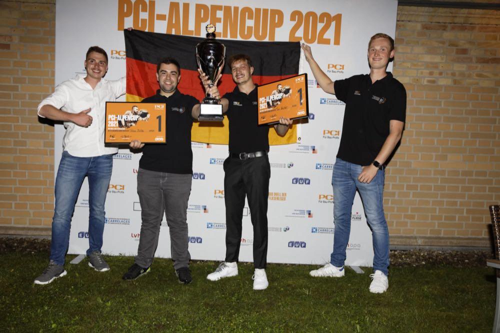 Team Deutschland siegt beim PCI-Alpencup