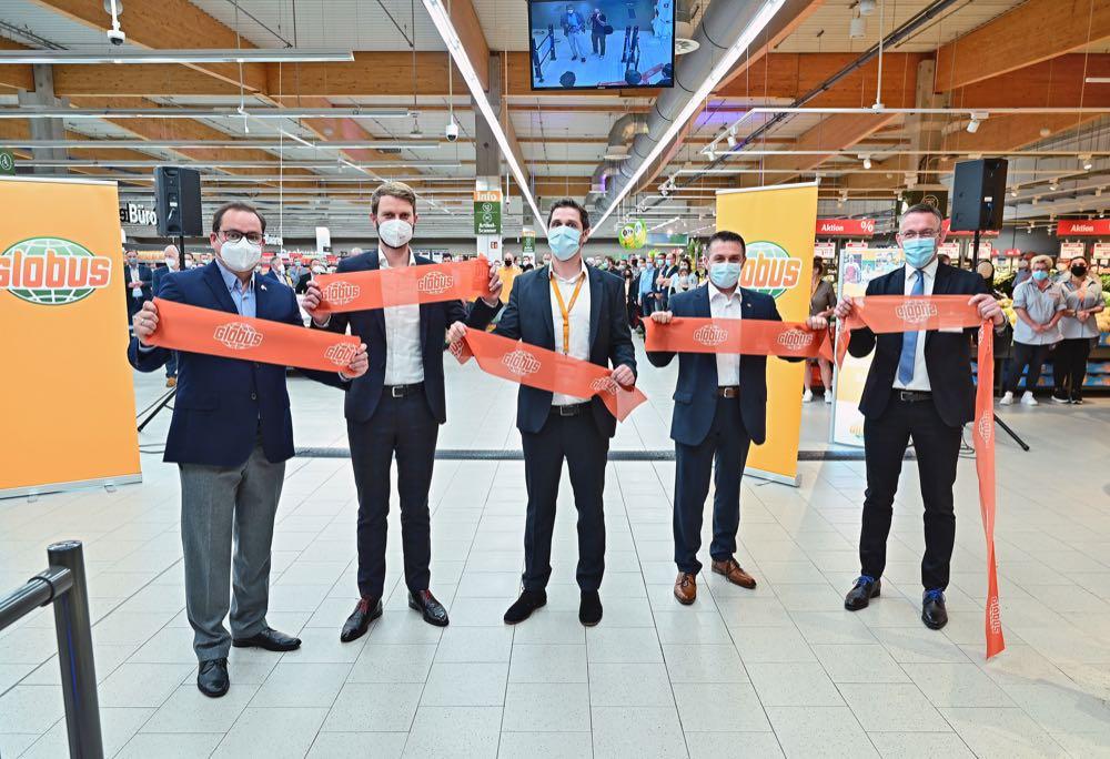 Globus eröffnet im Essener Kronenberg Center sein 50. SB-Warenhaus