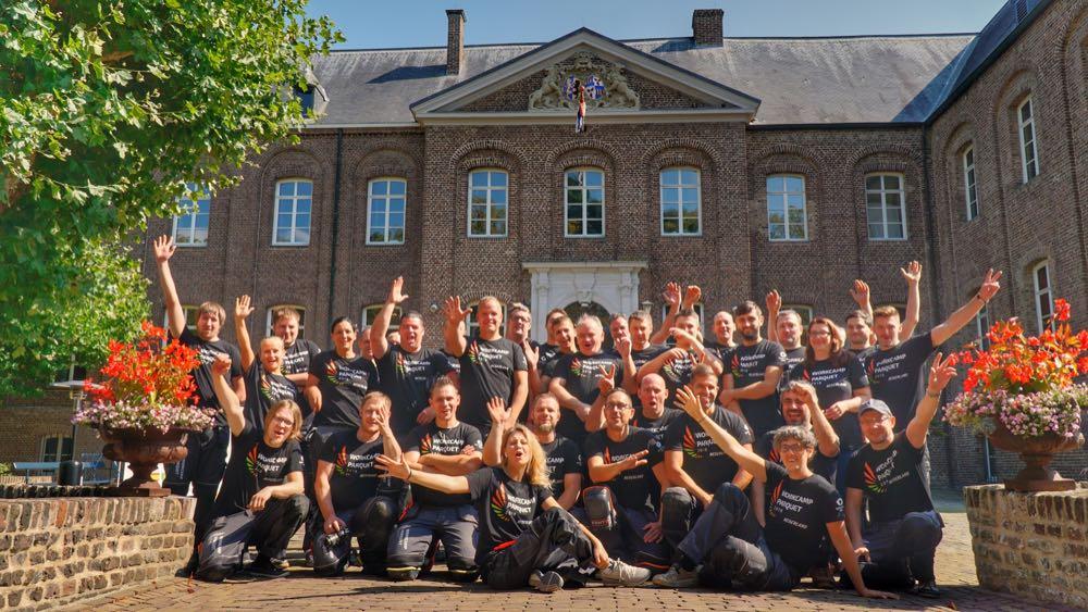 Workcamp Parquet 2021 in Belgien