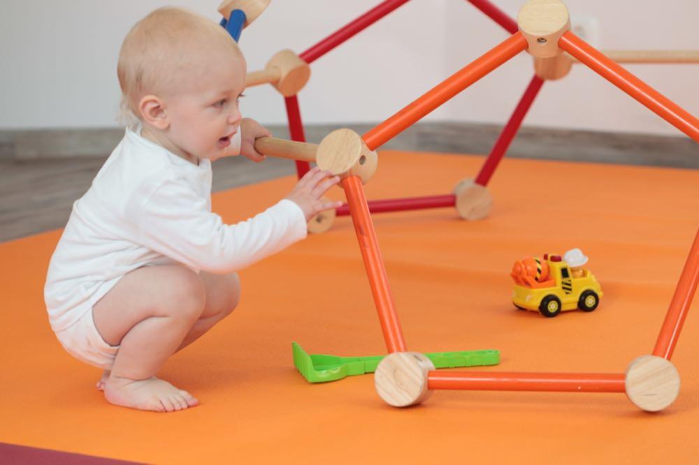 AKO Kolckmann: Farbenfrohe Krabbel- und Spielmatte