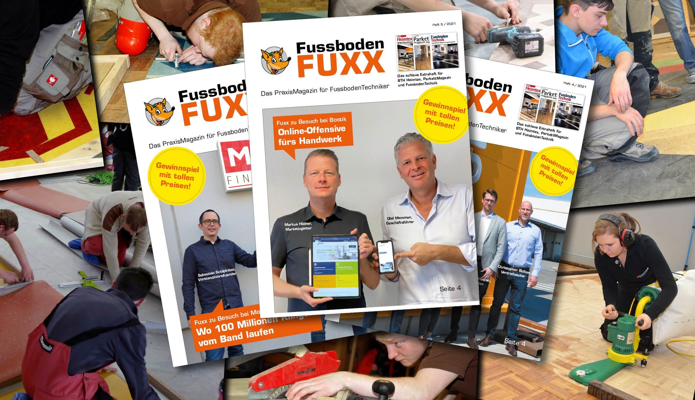 FussbodenFuxx: Alle Ausgaben seit 2014 jetzt online