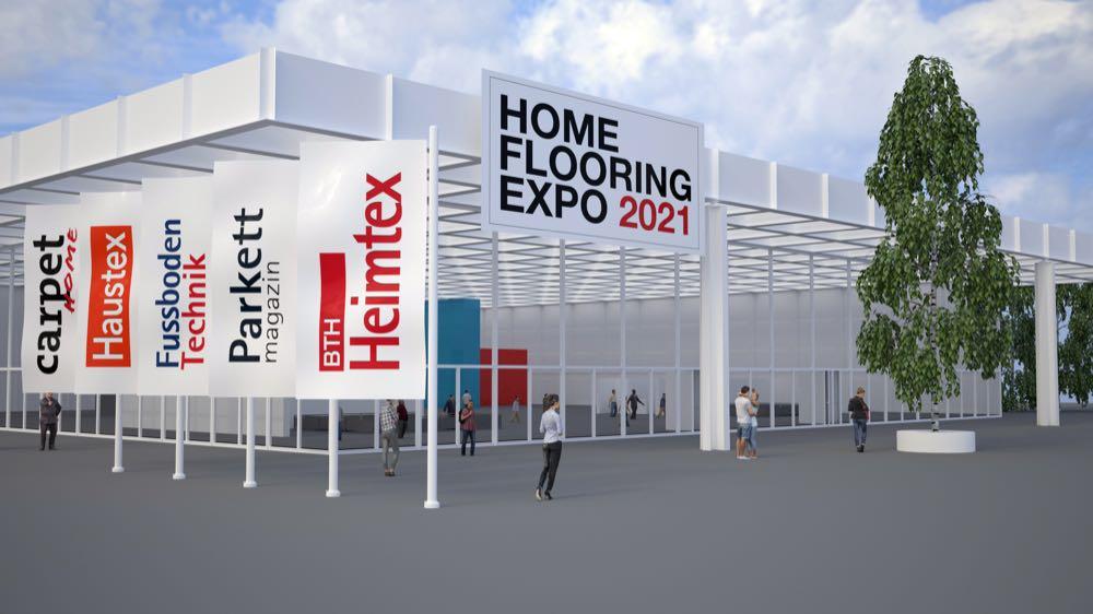 SN-Verlag veranstaltet erste Digitalmesse Home & Flooring Expo 2021