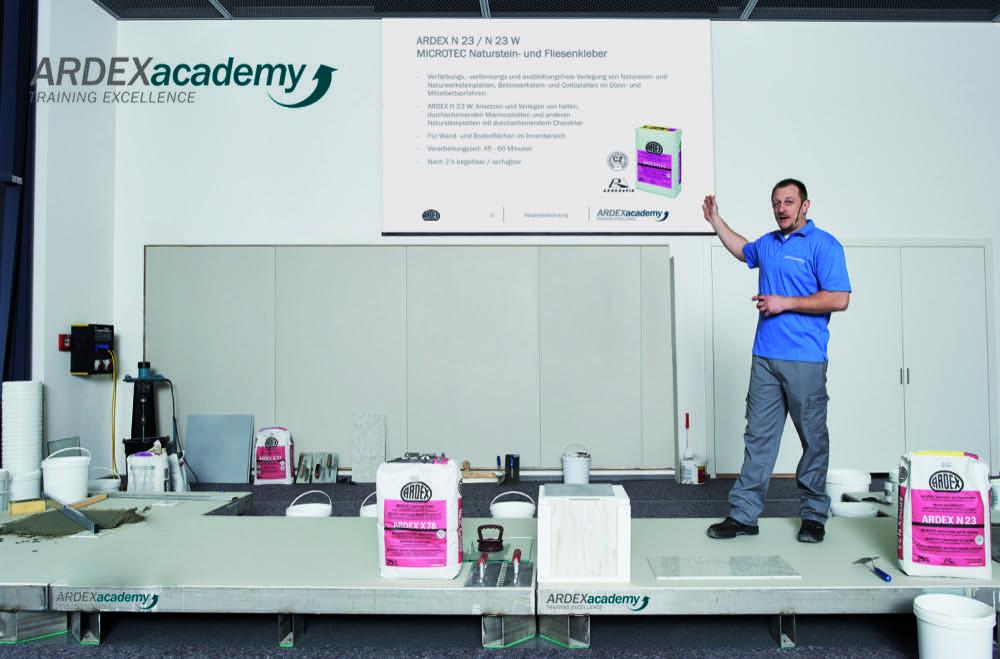 Ardex Academy mit Präsenz und digital gestartet