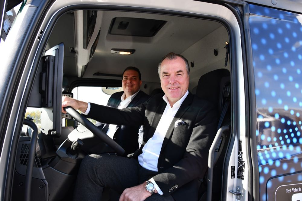 Tevex Logistics setzt ersten E-Lkw ein