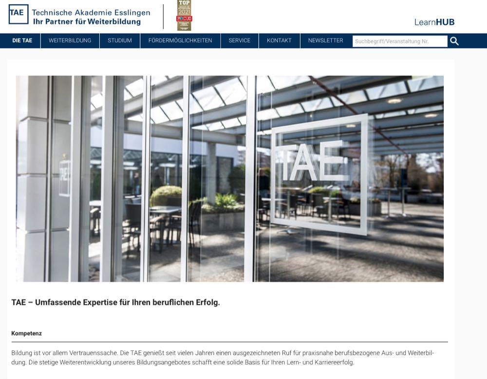 Technische Akademie Esslingen bietet Seminare für Bodenbranche an