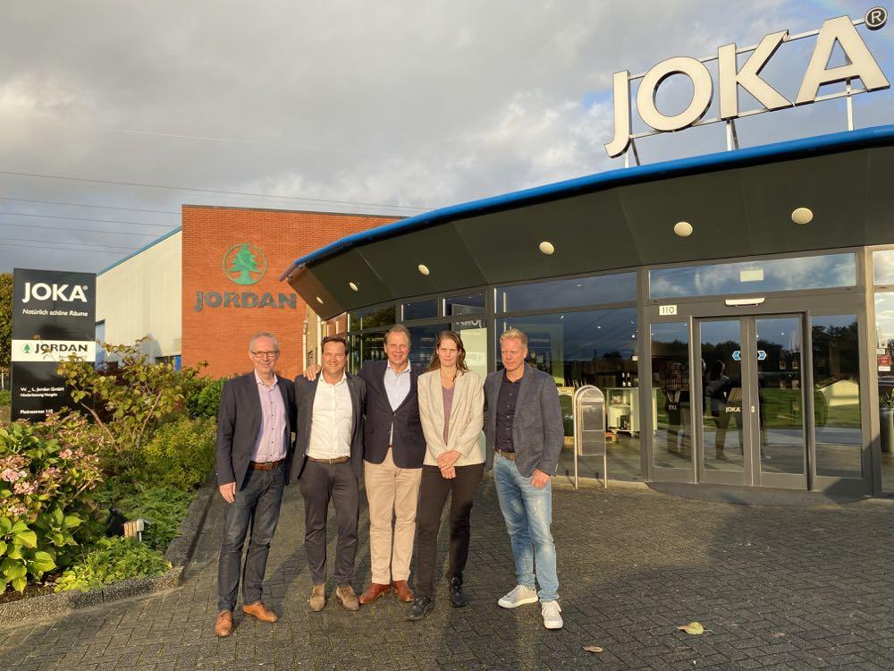 Jordan übernimmt Viehoff Fournituren in den Niederlanden
