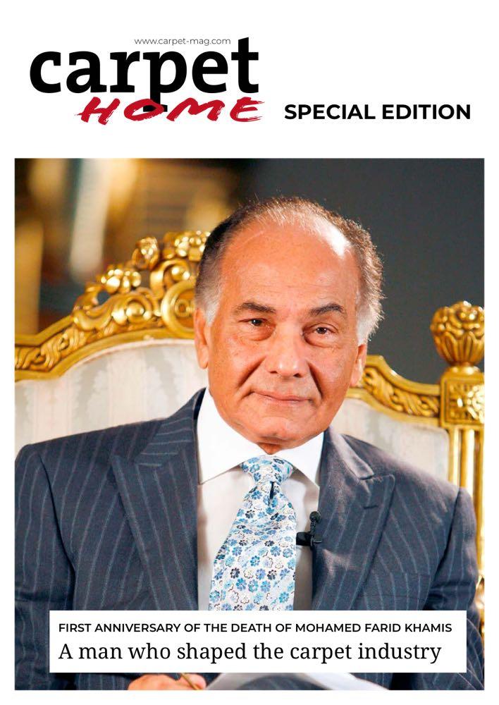 Special Edition über Mohamed Khamis in der Carpet Home IV/2021