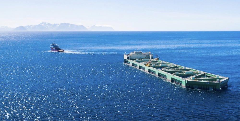 Norwegen: ASC-Zertifikat für Offshore-Lachszucht Havfarm 1