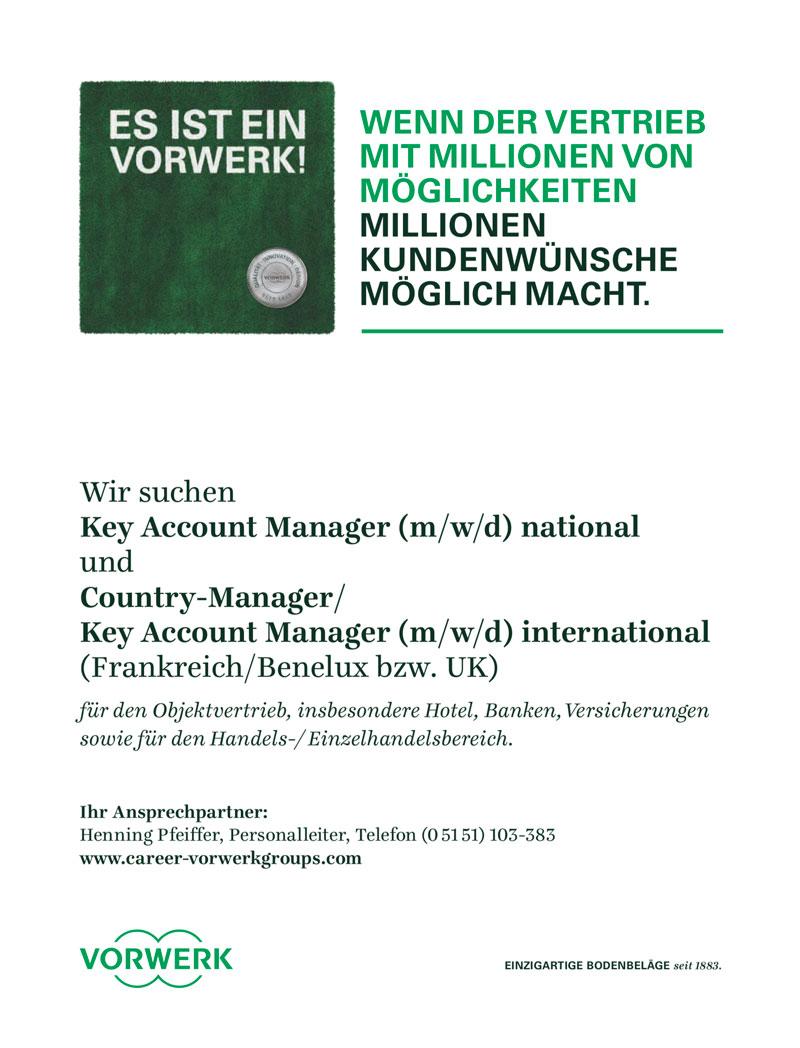 Key Account Manager (m/w/d) national für Bodenbeläge