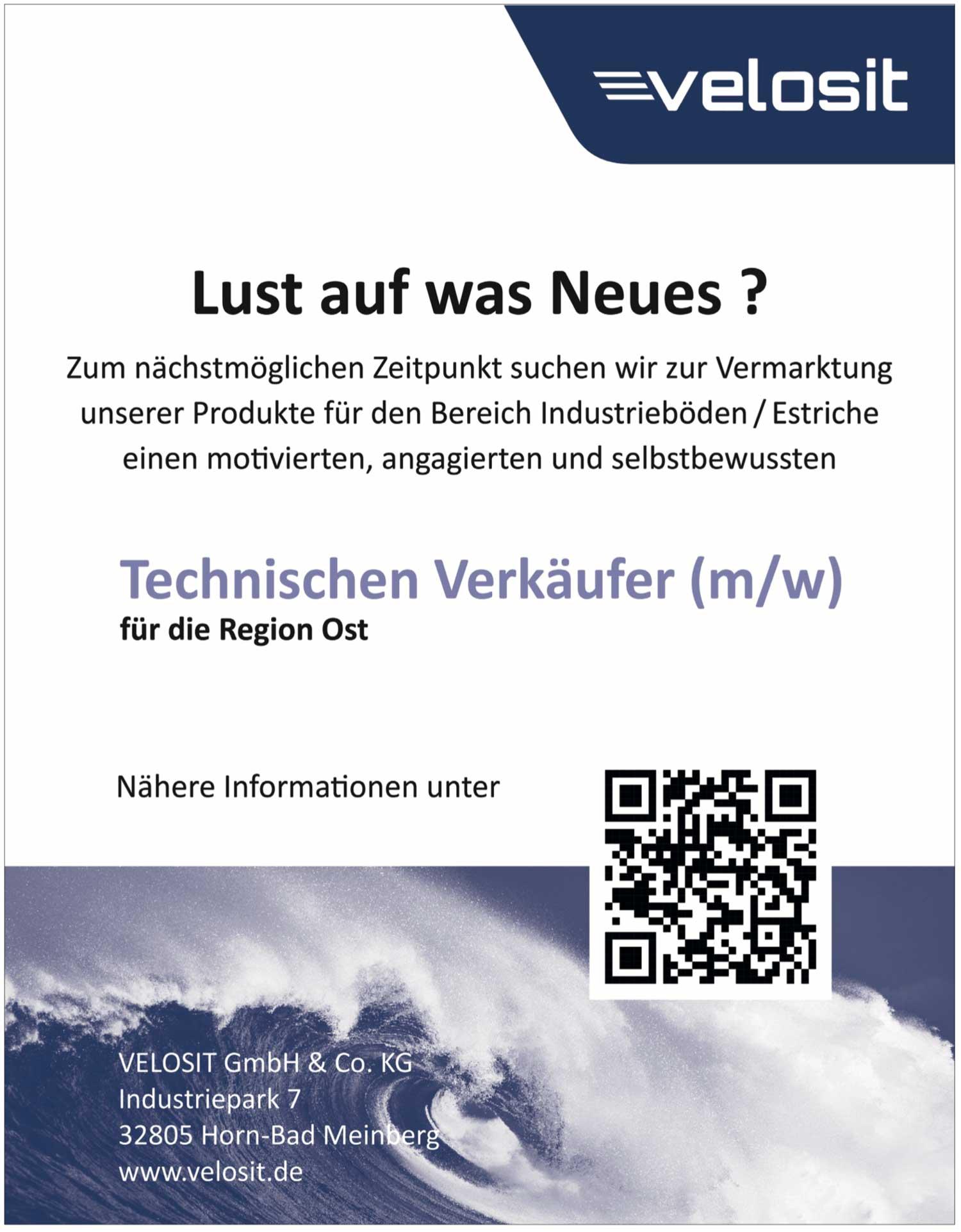 Technischer Verkäufer (m/w) für Industrieböden/Estriche