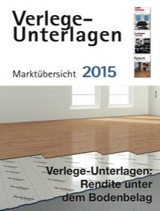 Verlege-Unterlagen Marktübersicht 2015