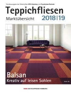 Teppichfliesen Marktübersicht 2018/19