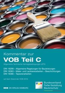 Kommentar zur DIN 18363 Maler- und Lackierarbeiten DIN 18366 Tapezierarbeiten